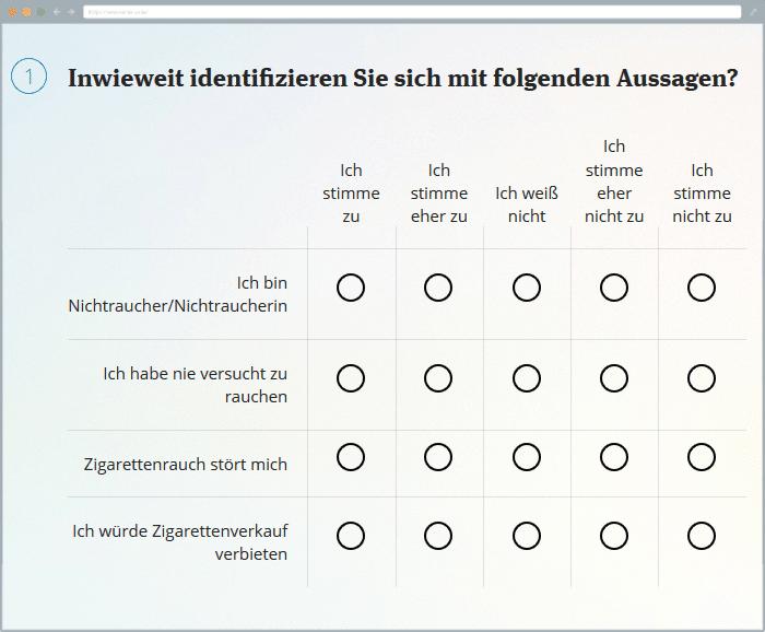Beste Likert Skala Fragebogen Vorlage Bilder - Beispiel ...